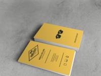 Business card sunglasses design