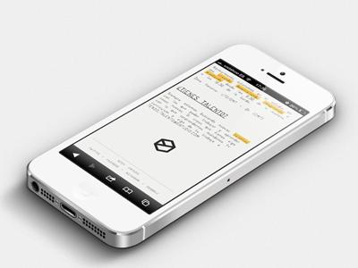 Sixtudio responsive design iphone 5 small