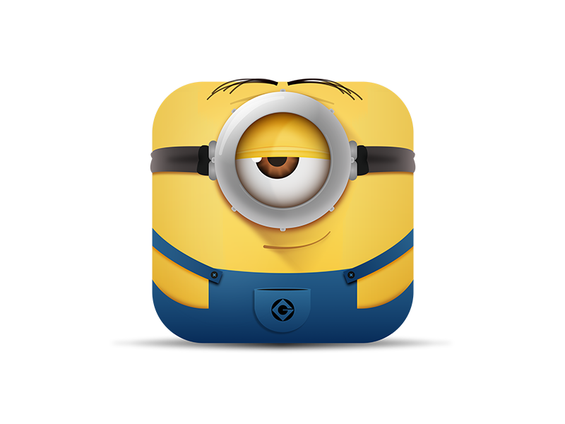 Minion Ios Icon By Miroslav Vesin Dribbble