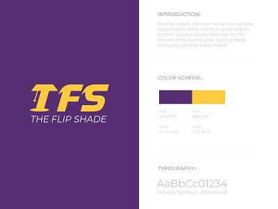 The Flip Shade Logo Design logodesignersclub minimal branding typography logos designs logodesigner logodesigns