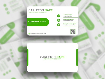 Business Card Design template business card design card shop card identity card advertisment business branding graphic design