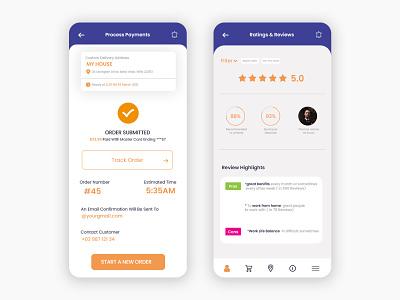 Salon Mobile App - UI Design