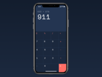 Daily UI 04 - Calculator