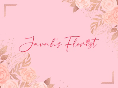 Floral Shop Logo Design startup need logo simple and clean abastract floral shop flower colorful illustration design flat logo a b c d e f g h i j k l m n word mark logo brand identity