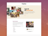 Experience Marketplace Landing page