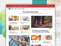 Brain Health News Landing