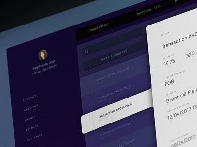 Mockup for YC Application blockchain branding ui