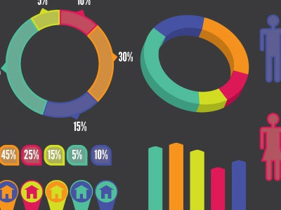 Free Creative Beacon Infographics Template infographics free