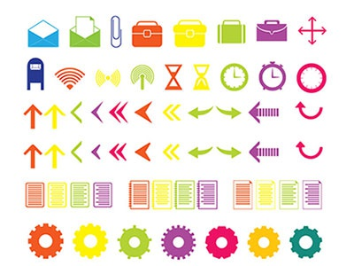 Practicons - Free Icon Set (Ai + PNG + SVG)
