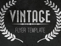 Free Vintage Flyer Template
