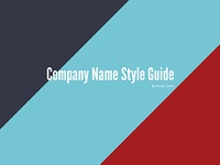 Style guide template 01