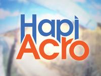 Hapiacro Logo Condensed Bright