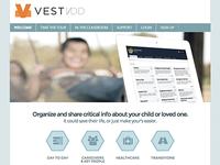 Vestidd Homepage