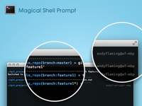 Magic Shell Prompt For Oh-My-ZSH