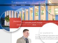 Invision Homepage Design