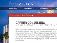 Invision Inner Page Design