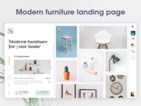 Modern Furniture Website / landing page