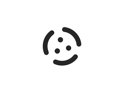 Trismile logo logomark symbol smile smiley trismile triathlon identity