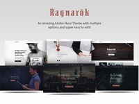 Ragarok Adobe Muse Theme