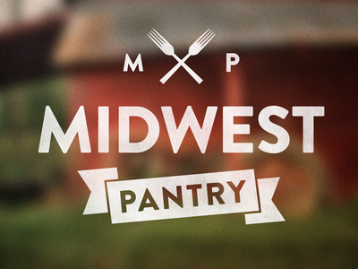 Midwest Pantry logo food local rural