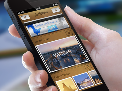 Airpano iPhone App