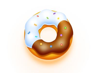 Donut Icon illustration sketch donut icon