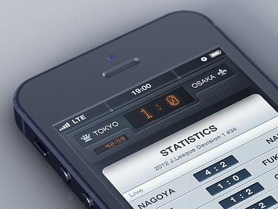 Soccer Broadcasting App ios iphone sport broadcast soccer football