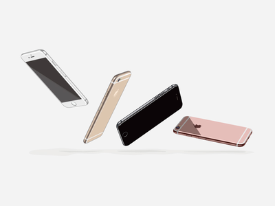 iPhone6_illrust apple iphone6 iphone