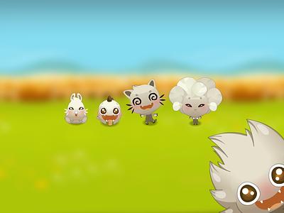 "Présentation du jeu mobile ""KAWAï"" kickalive kawaï cute creature smartphone mobile game video game"