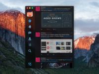 Twitter UI Concept