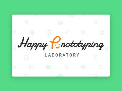 Happy Prototyping Lab labo logo ux prototyping design happy p