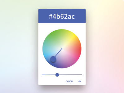 Day - 060  Color Picker dailyui ui layervault colors color picker