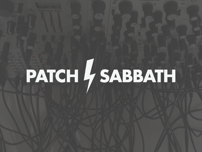 Patch Sabbath eurorack logo branding event synthesizer synth modular