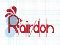 Rairdon Farms Logo Project - Type