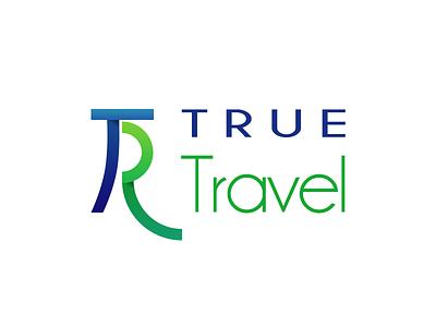 True Trevel logo design proposal travel