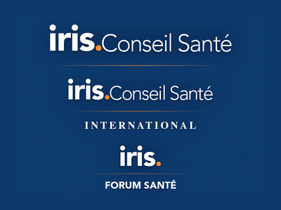 Iris Logo iris logo logo type