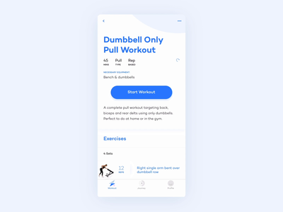 Alive by Whitney Simmons - Workout swift fitness app fitness ux design app ios mobile motion animation