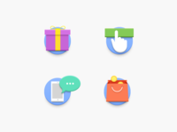 Loyalty Program Icons for Promo Site
