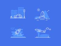Gps Speed — Behance Icons
