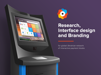 Payment Kiosk Behance Project