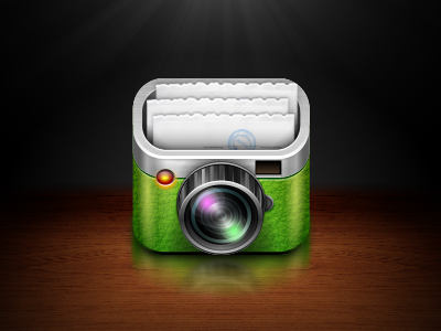Photo cash-office ios iphone app icon cash icon cam camera invoice bill alterplay