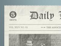 5 Cent Newspaper