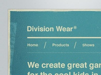 Division Wear