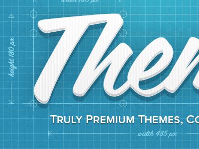 Premium Themes Blueprint blueprint theme texture script proxima nova coming soon