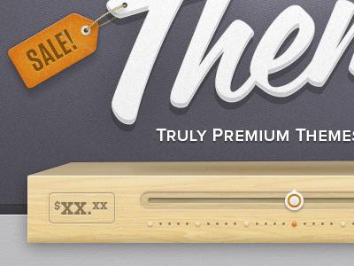 A sale already? texture wood grunge ecommerce sale purple orange script slider ui