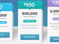 3D Pricing Page