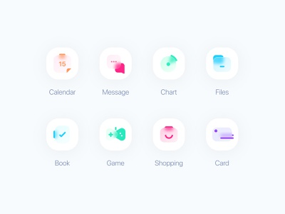 Frosted Glass Icons concept icon uiux ui new glassy glassmorphism icons pack iconset icons