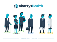 Abartys Health  - Characters Design