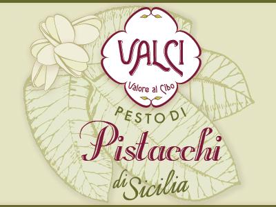 Pistachio Pesto Label