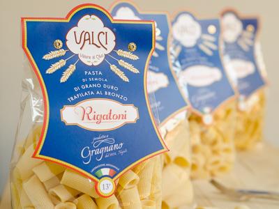 Valci - Pasta Label - Rigatoni